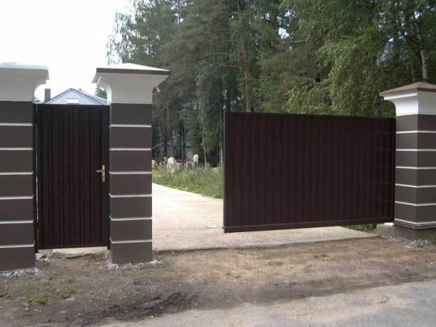Откатные ворота в Москве купить