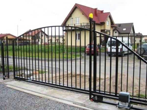 Схема автоматического открывания ворот