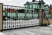 Решетчатые откатные ворота