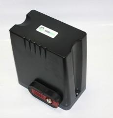 Комплект привода для откатных ворот HomeGate с блоком управления и двумя пультами, монтажная пластина DKC500ACP