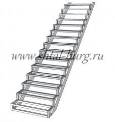 Одномаршевые лестницы